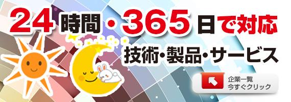 24時間・365日で対応する技術・製品・サービス特集